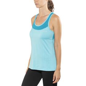 Salming Pure Hardloopshirt zonder mouwen Dames blauw